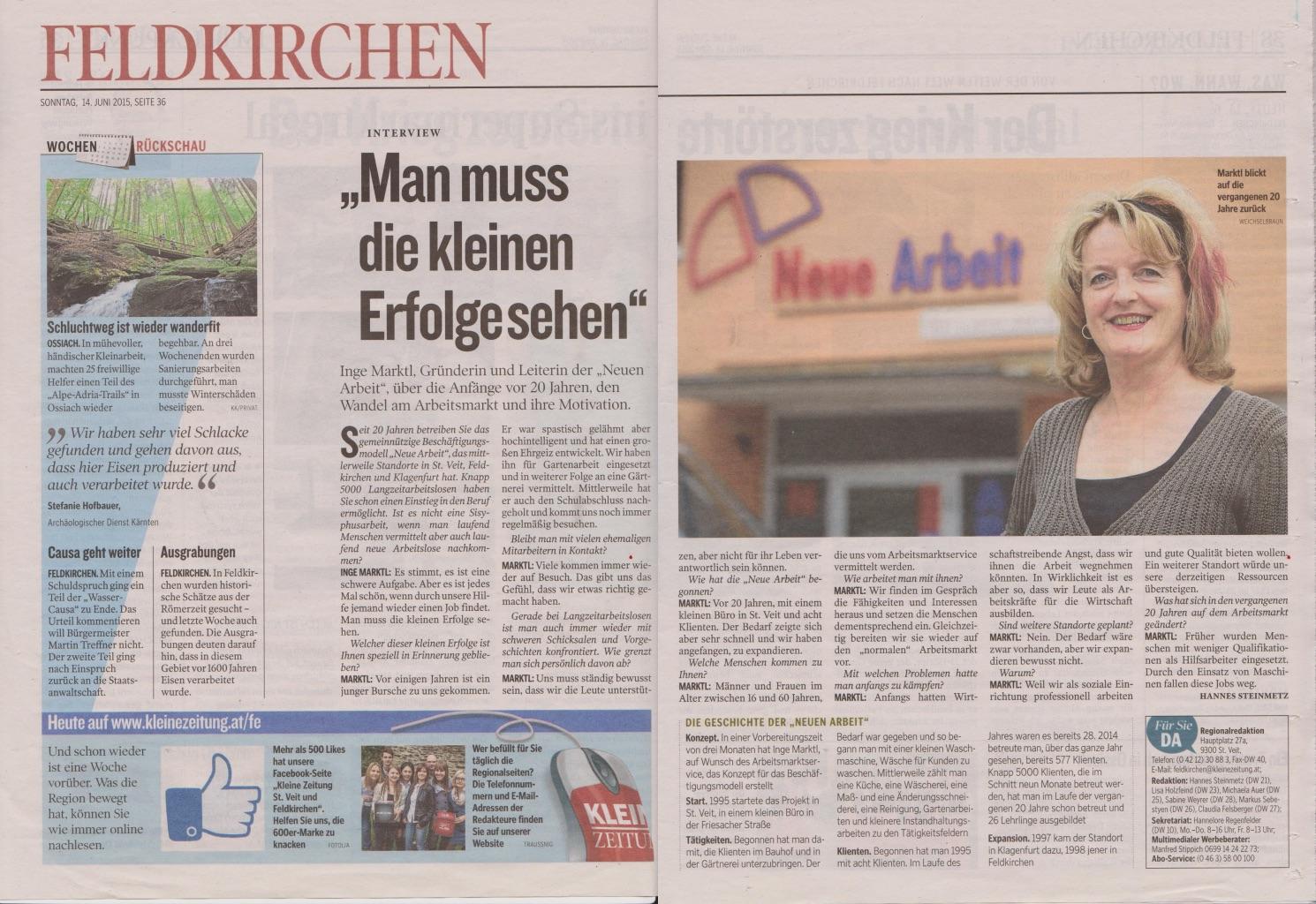 Kleine Zeitung Feldkirchen